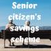 Senior Citizen's Savings Scheme