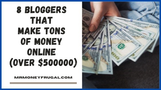 8 bloggers that make a lot of money blogging